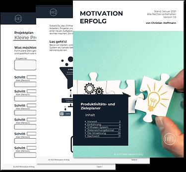 Produktivitäts- und Zieleplaner PDF