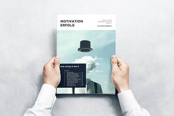 Mehr Erfolg im Beruf eBook in Hand
